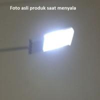 Lampu Jalan-Lorong-Taman 15 LED 130 lumen solar power tenaga surya