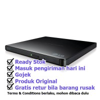 DVD-RW External LG Ultra Slim Portable DVD Writer GP65NB60