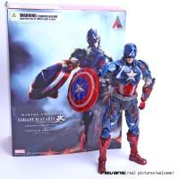Figure Captain America Play Arts Kai Captain America Marvel Universe
