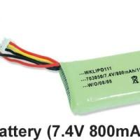 Battery 7.4V 800mAh (Walkera Ufly)