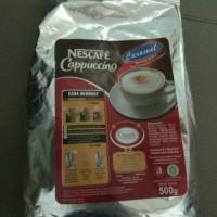 Jual Nestle Profesional Nescafe Cappuccino Caramel 500 gram Murah
