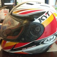 Jual 2nd helm cakil full face kyt rc7 speedfire semarang Murah