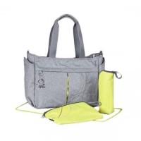 Jual Okiedog Urban Grey Melange Metro Diaper Bag Murah