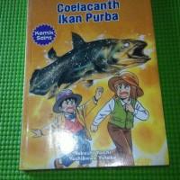 Komik aku tahu Coelacanth ikan purba komik sains Takashi yoichi Yoshik