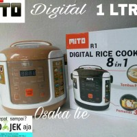 RICE COOKER DIGITAL MITO R1(1LTR) 8 IN 1.