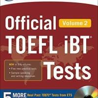 Buku Official TOEFL IBT Test Volume 2