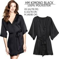 Kimono Branded Wanita - H&M KIMONO BLACK