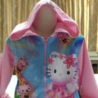 jaket anak / jaket anak perempuan / jaket anak cewek / hello kitty bee