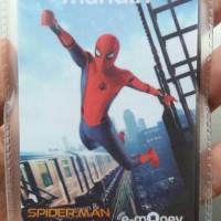Jual Mandiri E-Money Spiderman Saldo Rp. 40.000 E-Toll E Toll Card E Money Murah