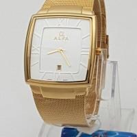 jam tangan spesial edition branded merk ALFA pasir