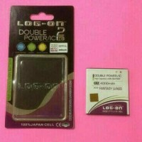Baterai Log-on double power ic MITO A60 / Fantasy U.