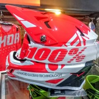 Helm Mtb Downhill Oneal Backflip Bungarra red white