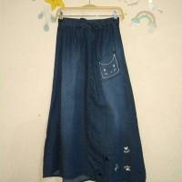 Rok Anak Jeans Panjang merk NEVADA Cat