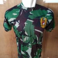 Kaos Oblong TNI AD Logo Kecil l Kaos Loreng TNI AD