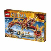 LEGO Flying Phoenix Fire Temple 70146 Mainan Anak