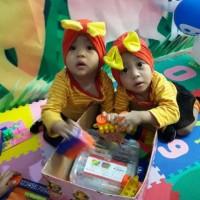 Jual Ecer Turban Pita Bayi & Anak Big Bow polos (pelengkap gamis, kerudung, Murah