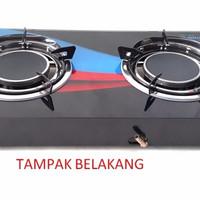 Kompor Kaca Infrared 2 Tungku Winn Gas Dg-154