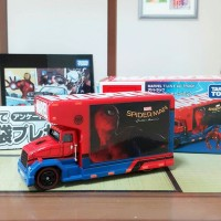 Jual Disney Tomica - MARVEL TUNE.: Mov.1.0 Ad Truck Spider-Man Original  Murah