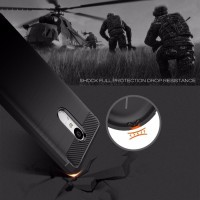 Rugged Carbon Armor Case Lenovo K6 Note