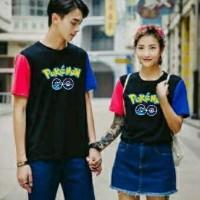 Baju Couple Blouse Combi Pokemon Go Kople c029