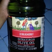LA RAMBLA EXTRA VIRGIN OLIVE OIL 3 LITER SPECIAL COUPAGE (import)