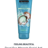 freeman dead sea minerals facial anti stress mask