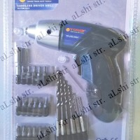 Mesin Bor Obeng Charge Cordless Driver Drill 3.6V Tora CSD3624