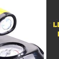 Jual 4 in 1 Car Vacuum Cleaner Portable High Power Tire Inflator Flashlight Murah