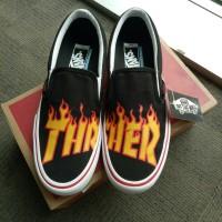 Vans Thrasher slip on murah original