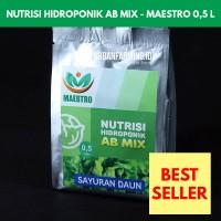 Pupuk/Nutrisi Hidroponik AB MIX Untuk Sayuran Daun (0,5 L)