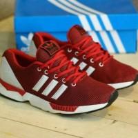 Free Bonus !!! Sepatu Casual Adidas ZX Flux Men - Red