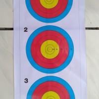 Target Face 40cm 5ring (Standard Indoor)
