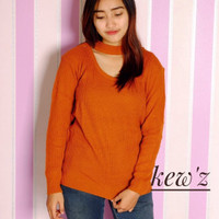 Sweater / Jaket / Baju Wanita / Blouse / Baju Rajut / Jasmine Vee Mura