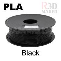 Filamen 3D Printer Filament PLA Black 1.75mm 1.0 kg kualitas bagus