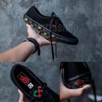 Sepatu Vans Authentic Checkerboard Rasta Premium BNIB Made In China