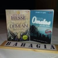 Paket Novel Demian dan Omelas terjemahan bahasa Indonesia