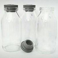 Jual Botol Asi 100 ml /sedia botol kaca asi asip 50 ml,100 ml.250 ml,500 ml Murah