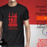 Jual Kaos desain TRAVELLER angklung explore indonesia EPI 209 Murah