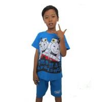 Kaos Anak Karakter Thomas /baju Anak Setelan Laki-laki Thomas Termurah