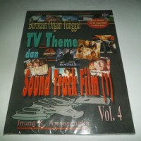 Bermain Organ Tunggal Vol. 4 : TV Theme dan Sound Track Film (1)