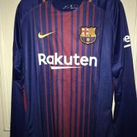 Jersey Baju Barca Barcelona Home LS Longsleeve 17/18 Grade Ori Futsal
