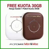 Jual Mifi Modem Wifi 4G Smartfren Andromax M3Y M3Z Free Perdana Kuota 30 GB Murah