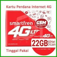 Jual Kartu Perdana Smartfren 4G GSM Kuota 22GB Bisa Untuk MiFi Modem WiFi Murah