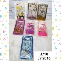Water Glitter Case J710 J7 2016