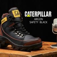 Sepatu casual pria rider boots Caterpillar safety boot Argon