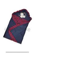 Baby Blanket Baby Scots Print  - Selimut bayi - Navy