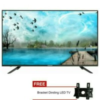 "changhong led 32"" tv televisi 32 inch 32D2000A + free bracket"