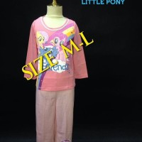Jual Setelan Piyama Anak Little Pony (0 - 2 Tahun) Berkualitas Bagus Murah