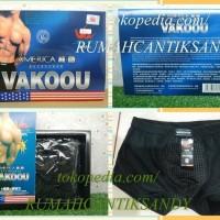 Jual Vakou ~ Vakoou ~ Va koou ~ Va kou ~ Celana Dalam Kesehatan PRIA Murah