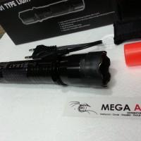 Stungun Police Swat 1101 Alat Setrum Senter Light Flashlight TERBAIK